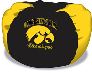 Iowa Hawkeyes Bean Bag Chair