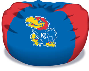 Kansas Jayhawks Bean Bag Chair