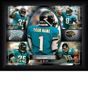 Jacksonville Jaguars Personalized Action Collage Print