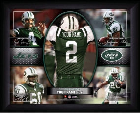 New York Jets Personalized Action Collage Print