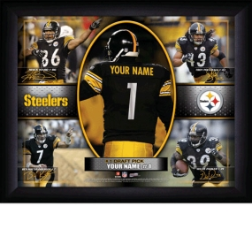 Pittsburgh Steelers Personalized Action Collage Print