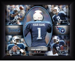 Tennessee Titans Personalized Action Collage Print