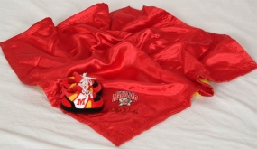 Maryland Terrapins Baby Blanket and Slippers