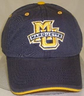 Marquette Golden Eagles Adjustable Crew Hat