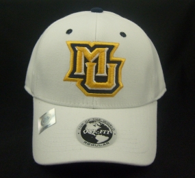 Marquette Golden Eagles White One Fit Hat