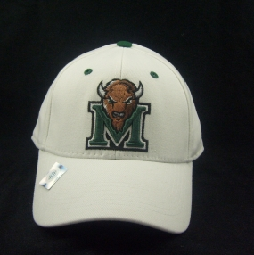 Marshall Thundering Herd White One Fit Hat