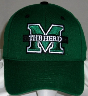 Marshall Thundering Herd Team Color One Fit Hat