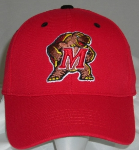 Maryland Terrapins Team Color One Fit Hat