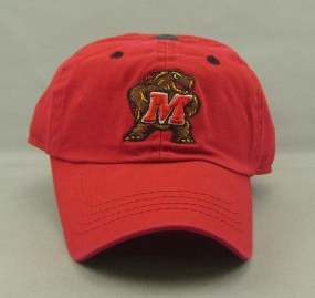 Maryland Terrapins Youth Crew Adjustable Hat