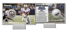 Marion Barber Silver Coin Card