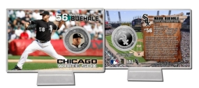 Mark Buehrle Silver Plate Coin Card