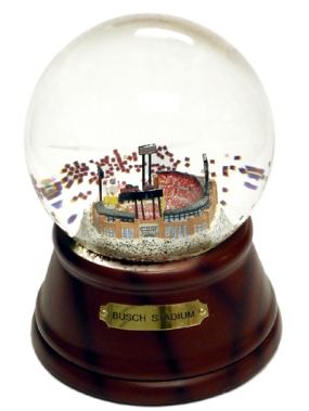 NEW BUSCH STADIUM MUSICAL GLOBE