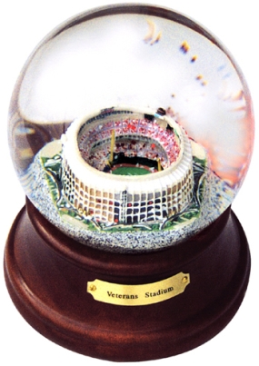 VETERANS STADIUM MUSICAL GLOBE