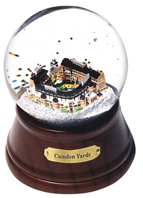 CAMDEN YARDS MUSICAL GLOBE