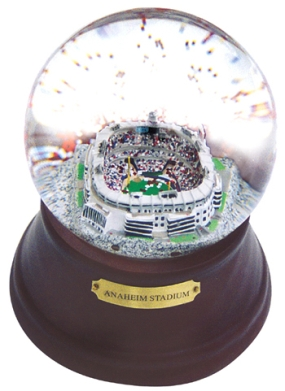 ANAHEIM STADIUM REPLICA MUSICAL GLOBE