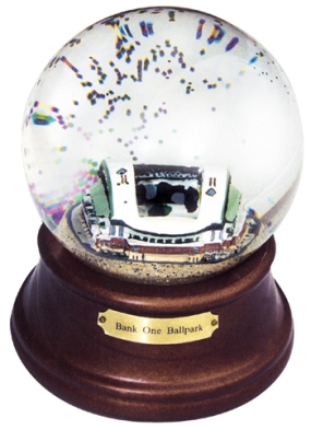 BANK ONE BALLPARK STADIUM MUSICAL GLOBE