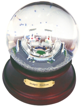 DODGER STADIUM MUSICAL GLOBE
