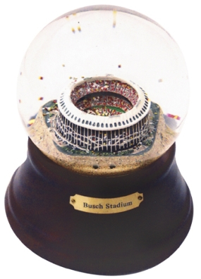 HISTORICAL BUSCH STADIUM MUSICAL GLOBE