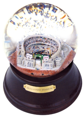 QUALCOMM STADIUM REPLICA MUSICAL GLOBE