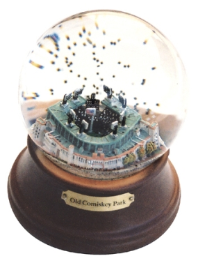 OLD COMISKEY PARK MUSICAL GLOBE