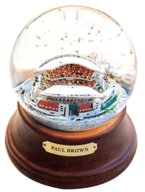 PAUL BROWN STADIUM MUSICAL GLOBE