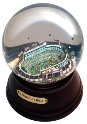 NEW LAMBEAU FIELD MUSICAL GLOBE
