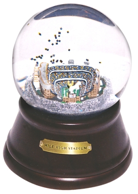 MILE HIGH STADIUM MUSICAL GLOBE
