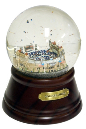 HISTORICAL SOLDIER FIELD MUSICAL GLOBE