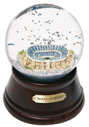 TEXAS STADIUM MUSICAL GLOBE