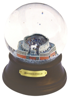 INVESCO FIELD MUSICAL GLOBE