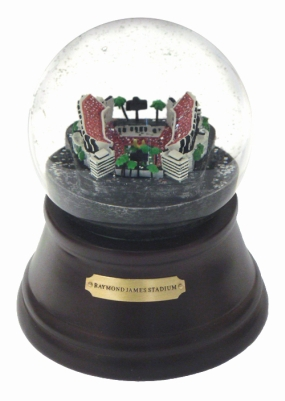 RAYMOND JAMES STADIUM MUSICAL GLOBE