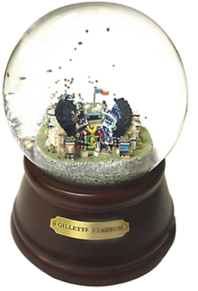 GILLETTE STADIUM MUSICAL GLOBE
