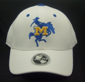 McNeese State Cowboys White One Fit Hat