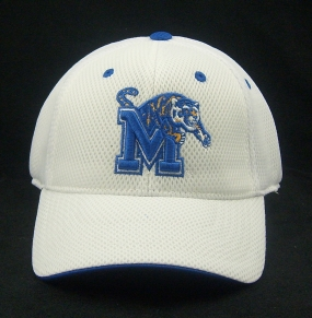 Memphis Tigers White Elite One Fit Hat