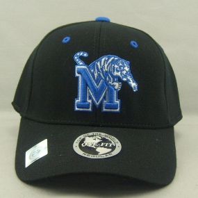 Memphis Tigers Black One Fit Hat