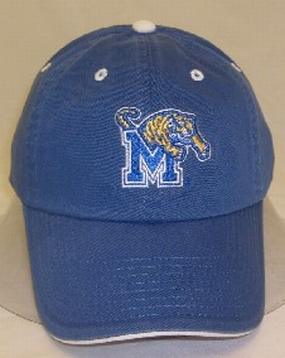 Memphis Tigers Adjustable Crew Hat