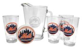 New York Mets Pitcher Set