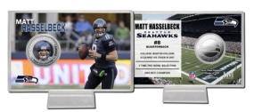 Matt Hasselbeck Silver Coin Card