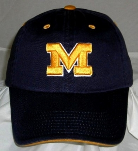 Michigan Wolverines Adjustable Crew Hat