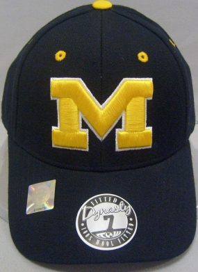 Michigan Wolverines Dynasty Fitted Hat