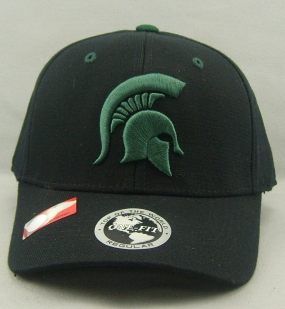 Michigan State Spartans Black One Fit Hat