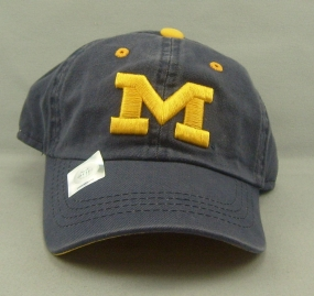 Michigan Wolverines Youth Crew Adjustable Hat