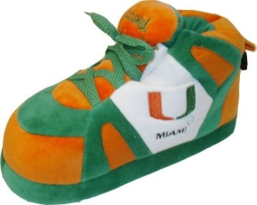 Miami Hurricanes Boot Slippers