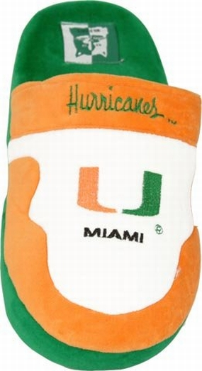 Miami Hurricanes Slippers