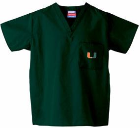 Miami Hurricanes Scrub Top
