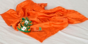 Miami Hurricanes Baby Blanket and Slippers