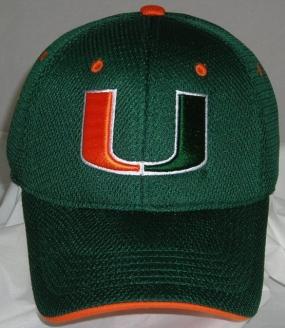 Miami Hurricanes Elite One Fit Hat