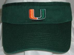Miami Hurricanes Visor