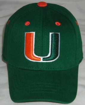 Miami Hurricanes Infant One Fit Hat
