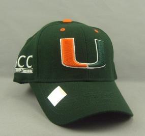 Miami Hurricanes Adjustable Hat